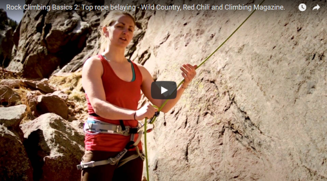 #2 – Belaying your teammate