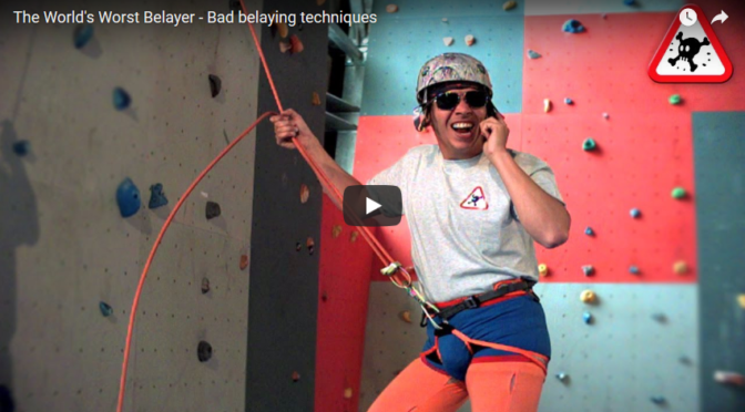 #3 – What you must not do while you are belaying